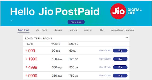 jio 999 offer