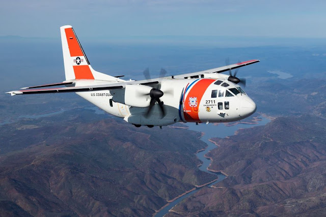 Leonardo C-27 US Coast Guard