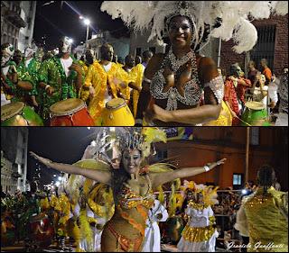 Desfile de Llamadas 2017 Montevideo Uruguay Senegal
