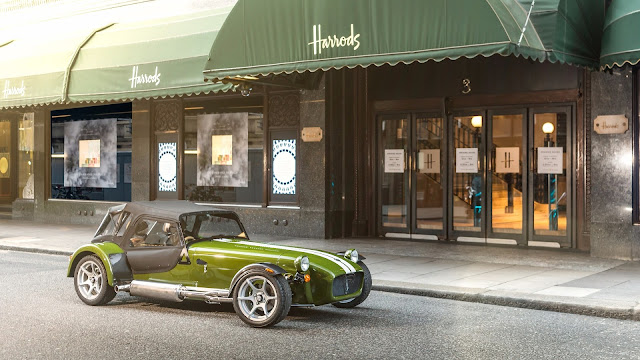 Caterham Seven Harrods