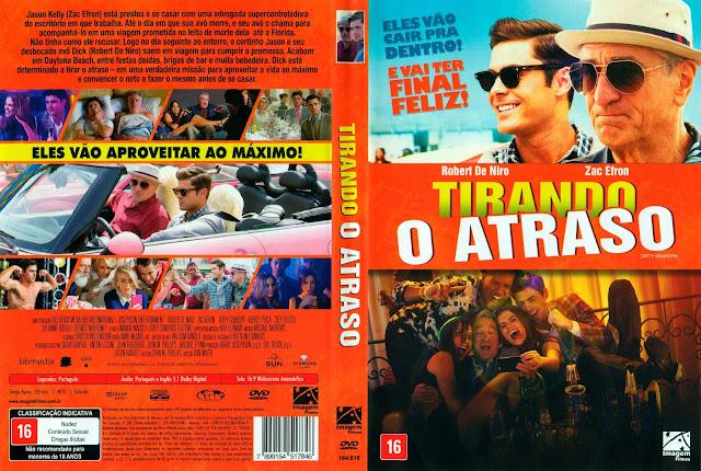 Capa DVD Tirando o Atraso (Oficial)