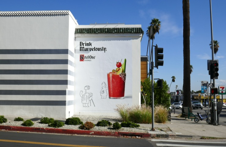 Ketel One Drink Marvelously billboard
