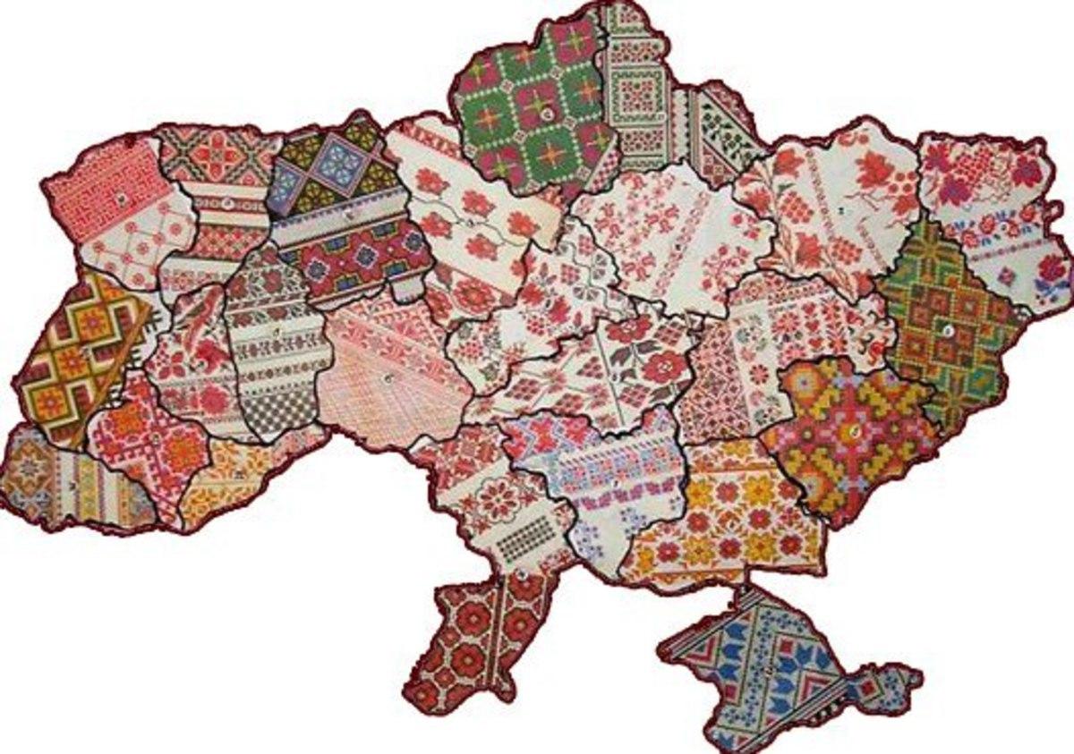 Таємниця коду вишивки всі регіони України - На скрижалях acf89117f5938