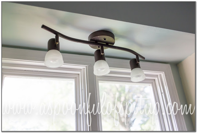 above kitchen sink light fixtures