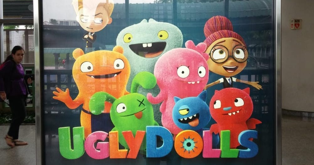UGLYDOLLS in Singapore Cinemas Now! But not for long