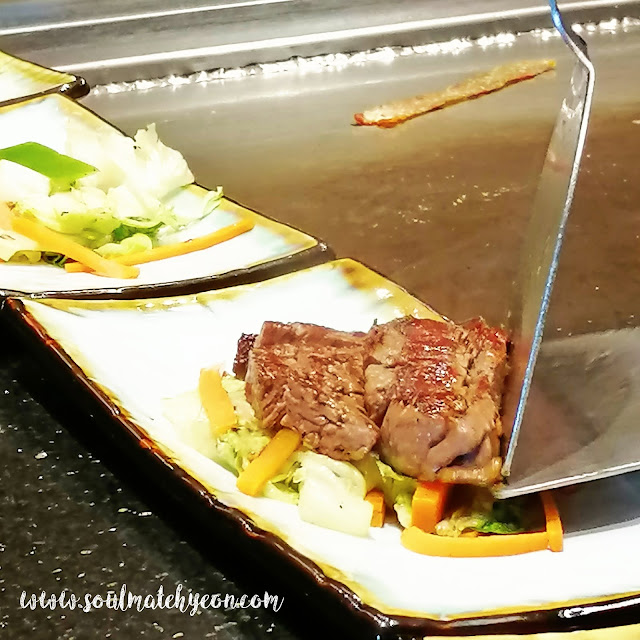 Power Lunch at Teppan Table, Kota Kinabalu Marriott Hotel