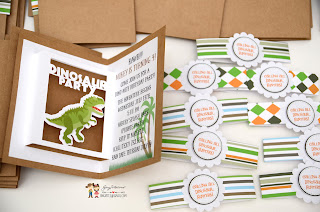 jurassic park invitations, jungle invitations, safari invitations