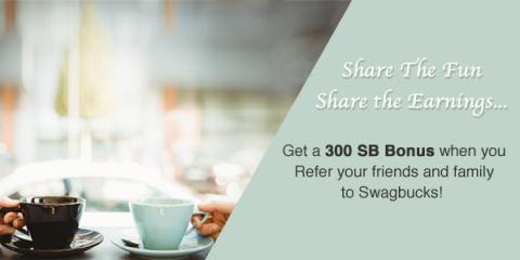 September Sign Up and Share Swagbucks Rewards