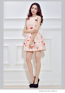 Mini Dress Korea Cantik Model ED5990 Terbaru 2015