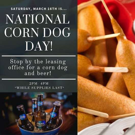National Corn Dog Day Wishes Awesome Picture