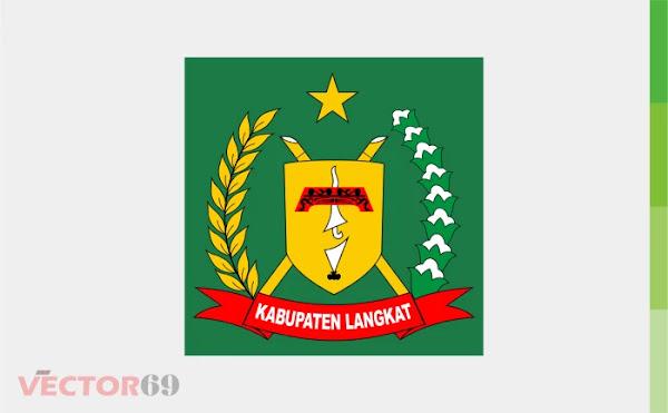 Kabupaten Langkat Logo - Download Vector File CDR (CorelDraw)