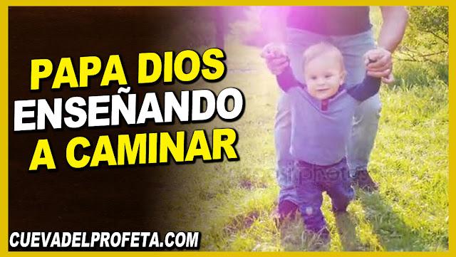 Papá Dios enseñando a caminar - William Marrion Branham en Español