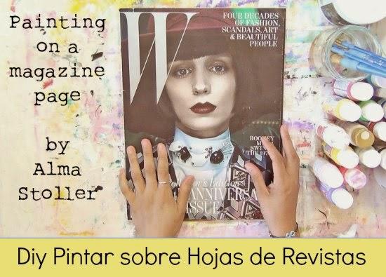 pintar, Alma Stoller, técnica, manualidades,método, revistas
