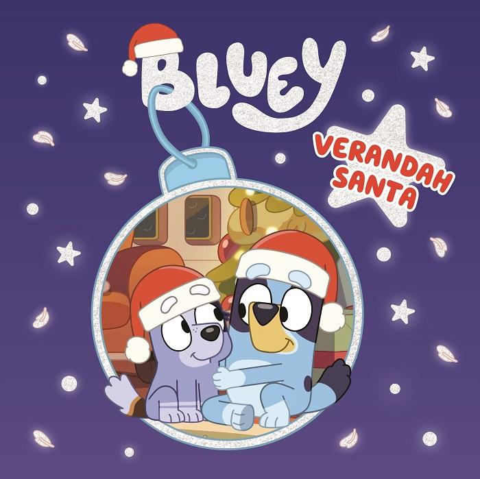 bluey verandah santa book