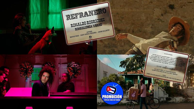 Ronkalunga - ¨Refranero¨ - Videoclip - Director: Carlos Alberto Mendez. Portal Del Vídeo Clip Cubano. Música cubana. Cuba.