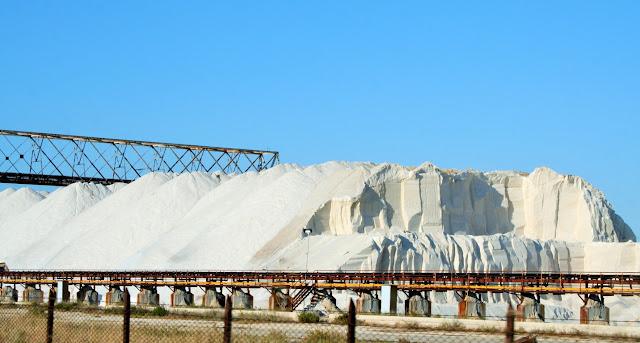 sale, salina, industria sale, montagna di sale