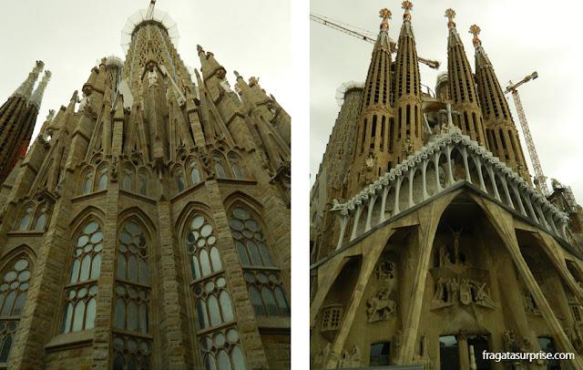 A Sagrada Família, a obra mais famosa de Antoni Gaudí
