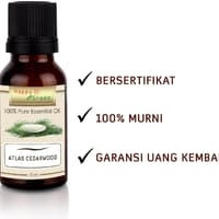 Happy Green Cedarwood Atlas Essential Oil (10 ml) - Minyak Kayu Cedar