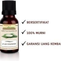 Happy Green Cedarwood Atlas Essential Oil (10 ml) - Minyak Kayu Cedar