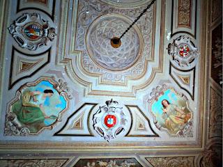 Decoração Interior em Teto do Museu Nacional do Rio de Janeiro