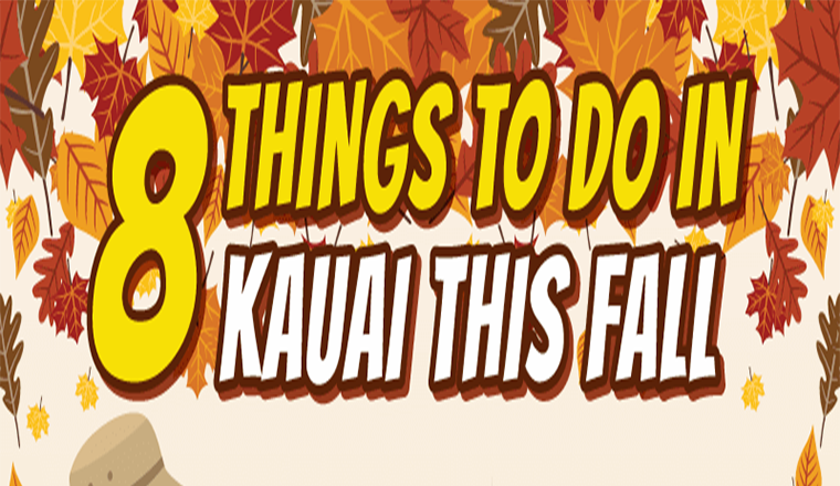 8 Things To Do In Kauai This Fall #infographic