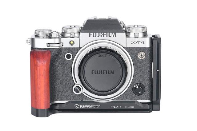 Sunwayfoto PFL-XT4 on Fujifilm X-T4