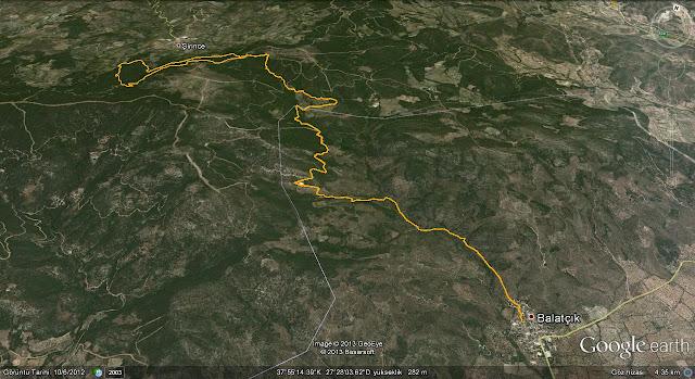 Balatçık-Şirince yürüyüş rotası 22km