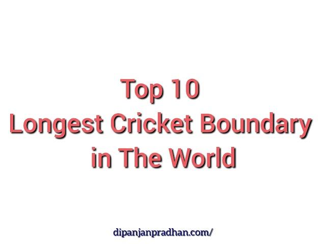 Top 10 Pisin Raja-Krikettikenttä Maailmassa 2021