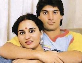 Mohsin with Rina Roy