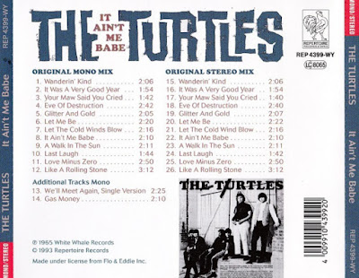 The Turtles - It Ain't Me Babe