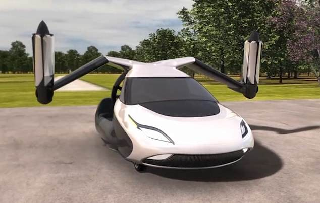 Το Πρώτο Ιπτάμενο Αυτοκίνητο Είναι Γεγονός και Βγαίνει στην Αγορά (video)