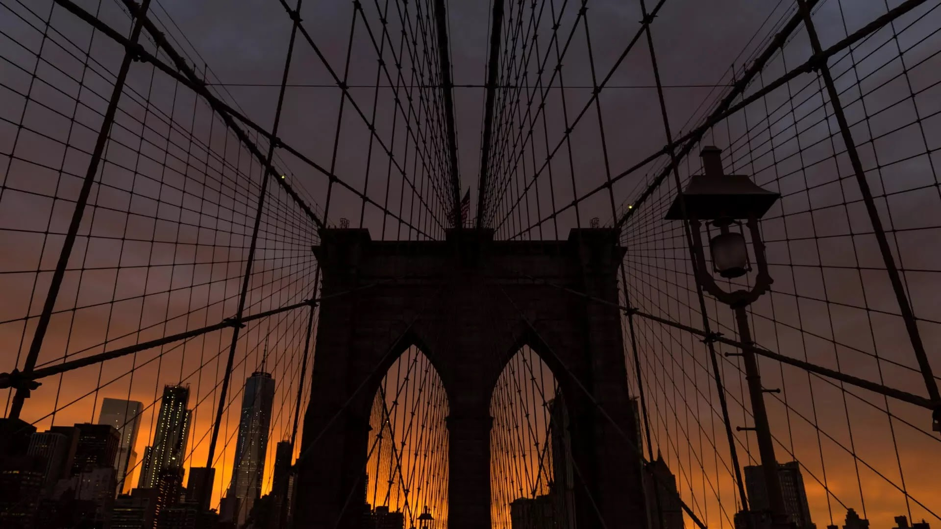 new york brooklyn bridge image