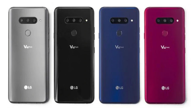 LG launches V40 ThinQ smartphone with five-camera setup there are pre-order deals too