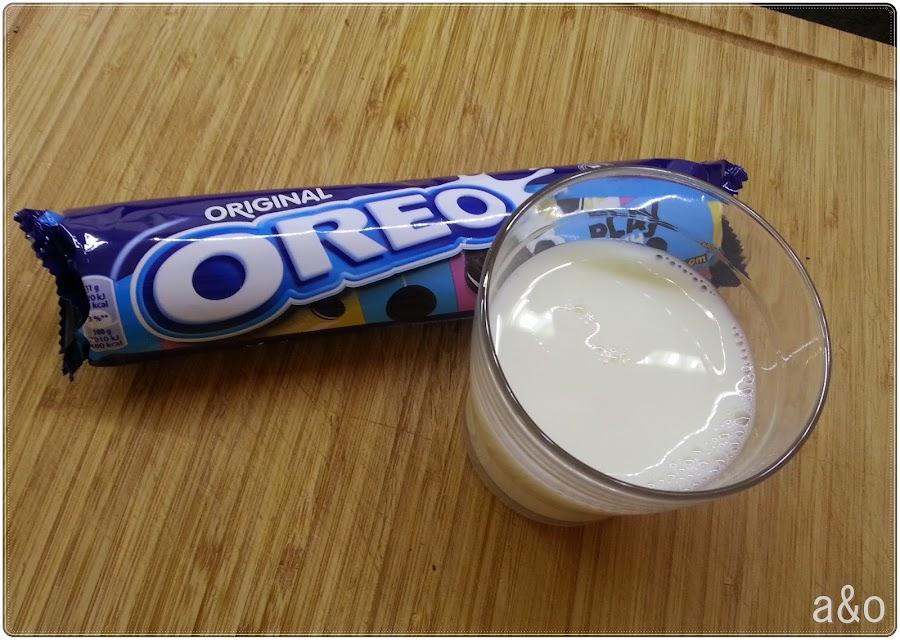 Batido helado de Oreo