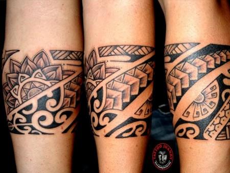 Vemos Tatuaje de Brazalete Maori