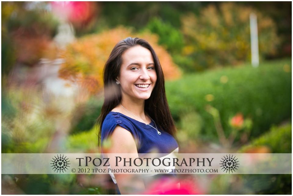 Senior Portrait Cylburn Arboretum