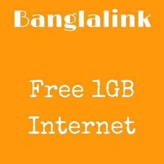 Free 1GB Facebook Internet in Banglalink