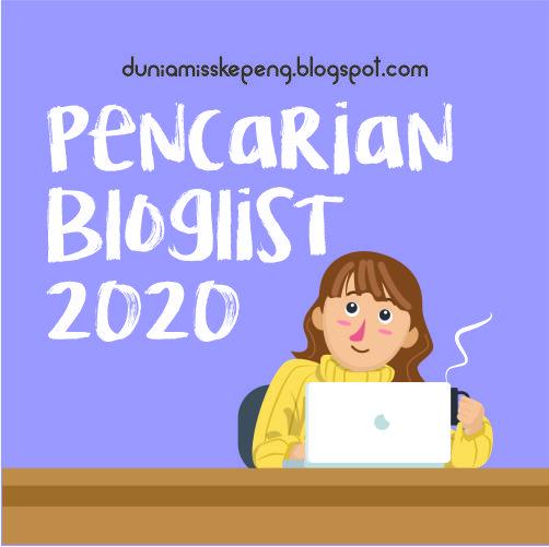Pencarian Bloglist 2020 by MK