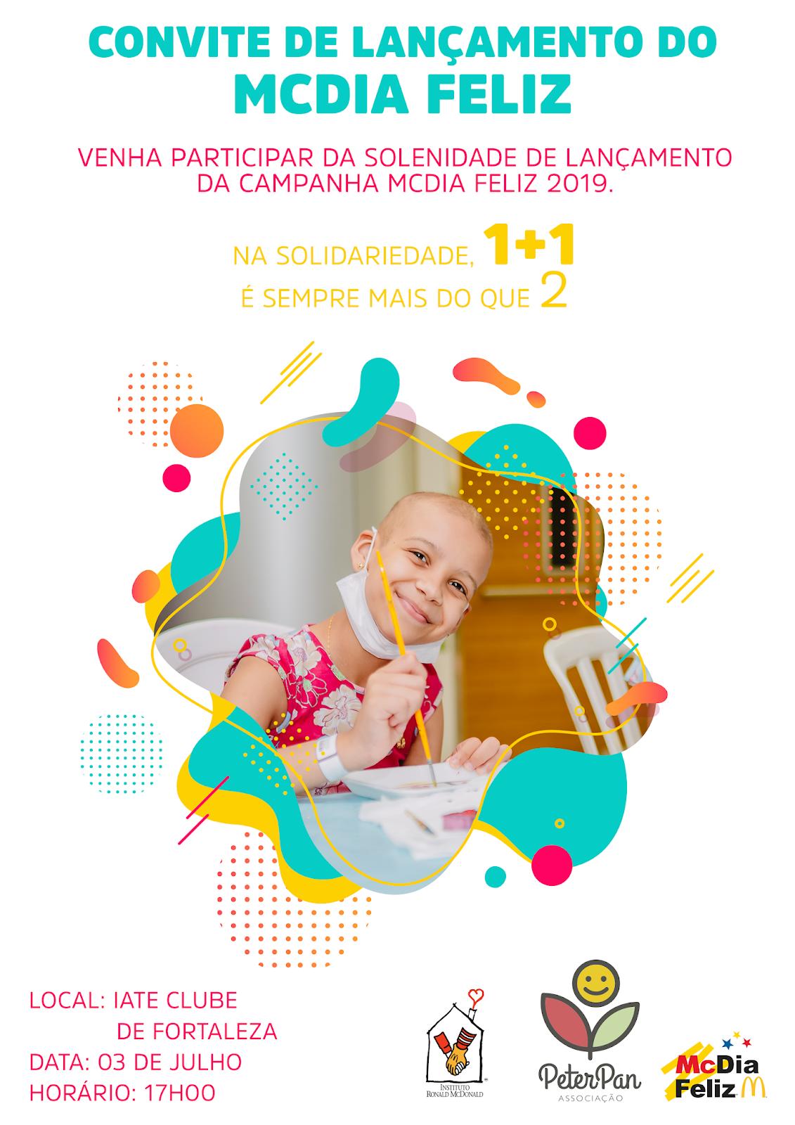 5502bd6fde9e Peter Pan lança McDia Feliz 2019 no Ceará