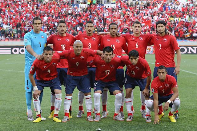 Formación de Chile ante Suiza, Copa del Mundo Sudáfrica 2010, 21 de junio
