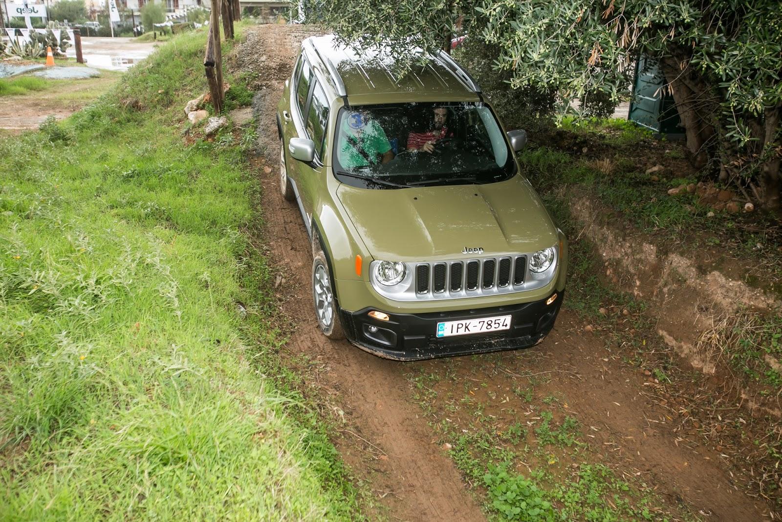 GK 0363 Πετάμε ένα Jeep Renegade σε λάσπες, πέτρες, άμμο, λίμνες. Θα τα καταφέρει; Jeep, Jeep Renegade, Renegade, SUV, TEST, zblog, ΔΟΚΙΜΕΣ