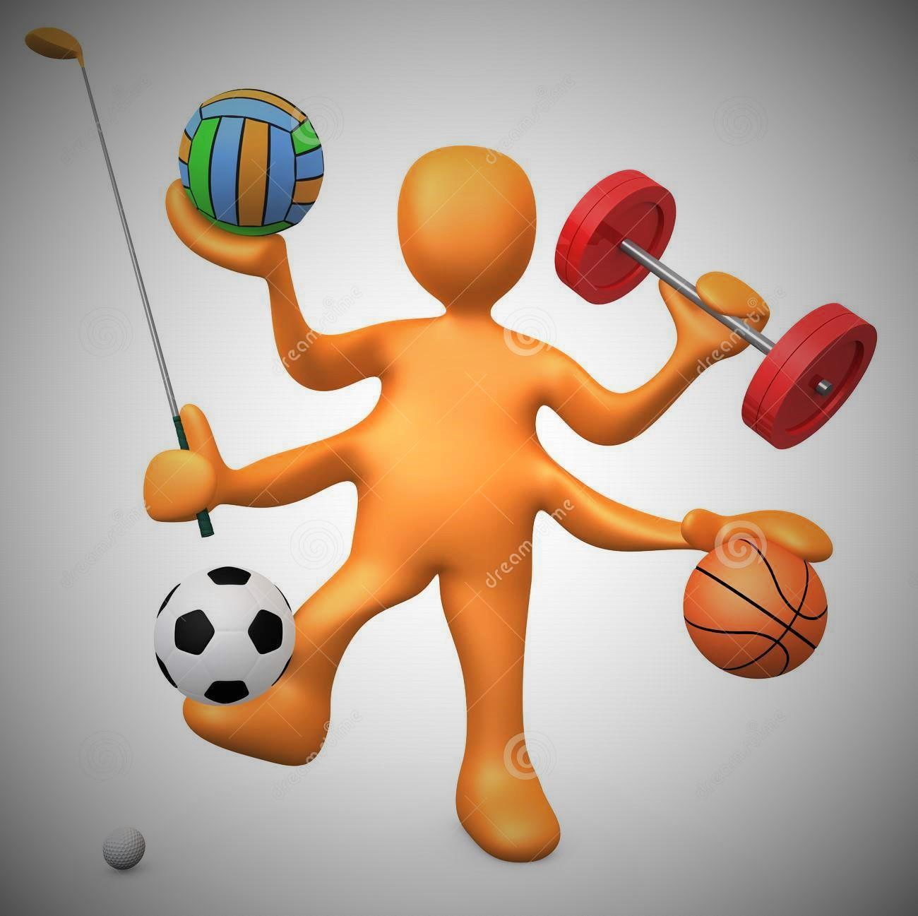 Картинка человечек спорт для презентации