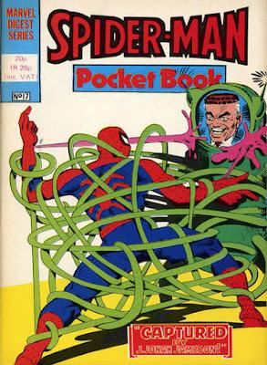 Spider-Man pocket book #17, the Spider-Slayer