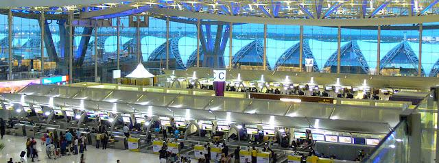 Bangkok Suvarnabhmi Airport Architecture
