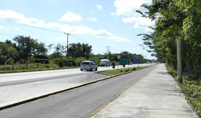 Cozumel - Straße nach Chankanaab