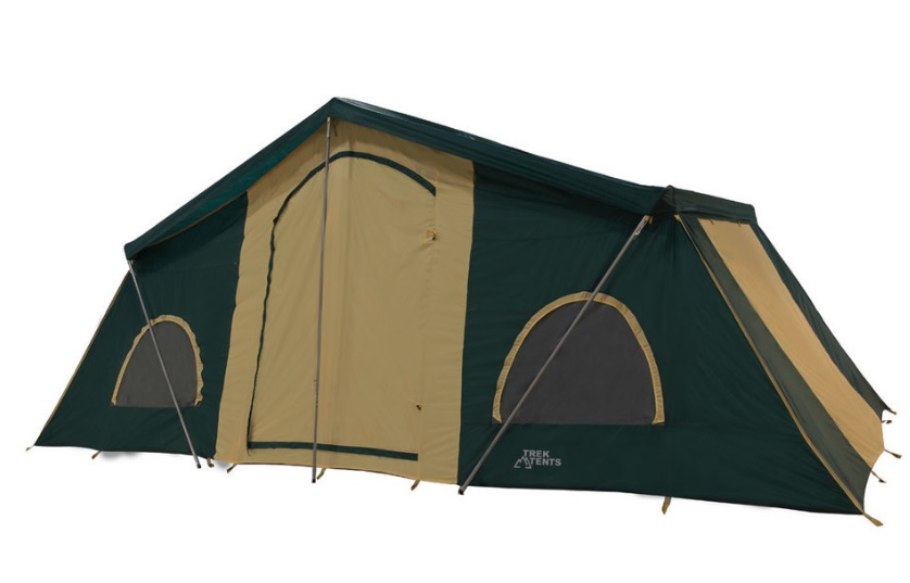 Trek 249 3 Room Cabin Tent with each room having its own zipper doors and windows four large screened windows with inside zip storm flaps and a wide front ...  sc 1 st  Army Navy Blog & Army Navy Blog: 3 New Trek Tents