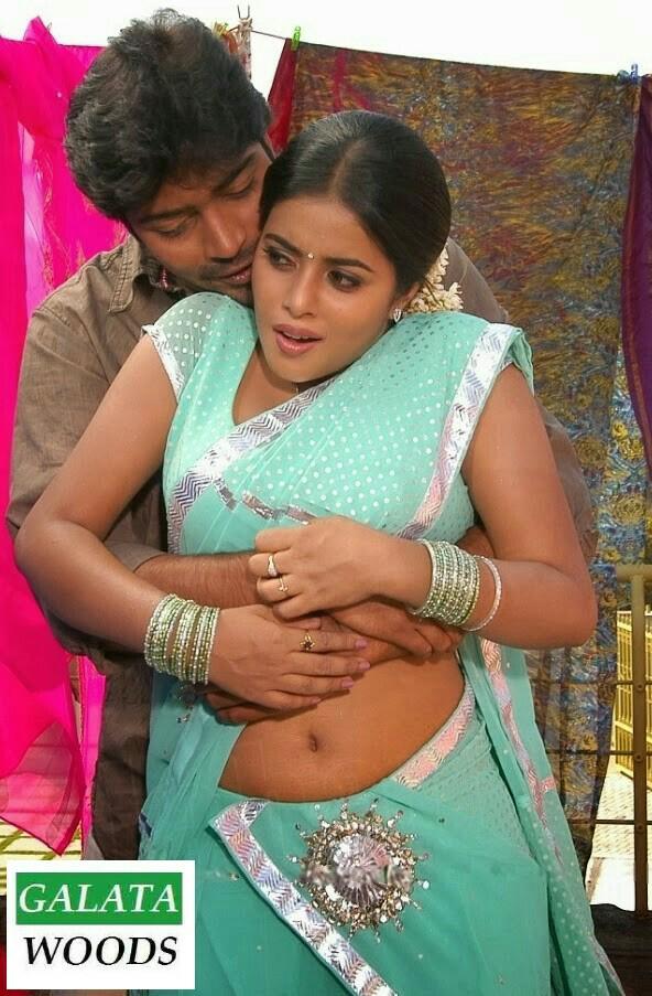 Only Actress Poorna Hot Romace By Allari Naresh At Seema -7671
