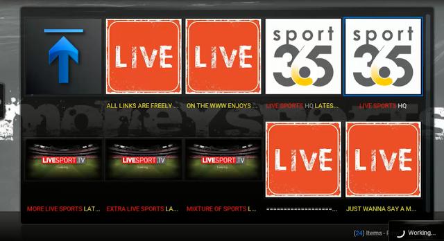تحديث إضافة Money Sports لمشاهدة أفضل القنوات على برنامج Kodi