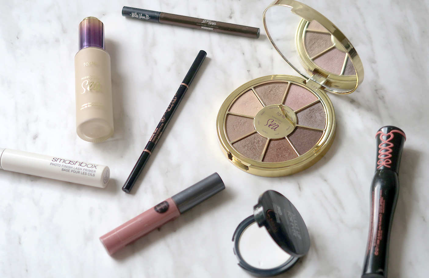 My current favourite summer makeup products!