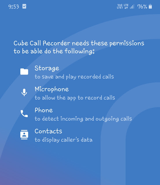 Enable app permissions